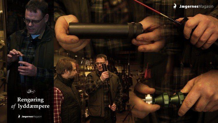Lyddæmper til rifler – Rengøring og vedligeholdelse
